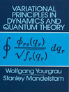 Variational Principles in Dynamics and Quantum Theory (eBook)