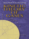 Kinetic Theory of Gases (eBook)
