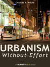 Urbanism Without Effort (eBook)