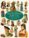 Old-Time Men and Women Vignettes in Full Color (eBook)