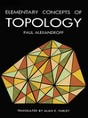 Elementary Concepts of Topology (eBook)