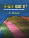 Thermoelectricity (eBook): An Introduction to the Principles