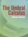 The Umbral Calculus (eBook)