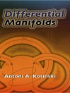Differential Manifolds (eBook)