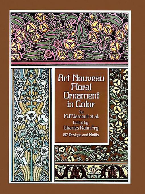 Art Nouveau Floral Ornament in Color (eBook)