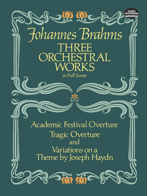Three Orchestral Works in Full Score (eBook)