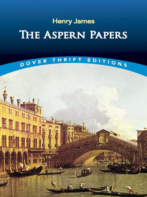 The Aspern Papers (eBook)