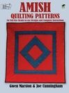 Amish Quilting Patterns (eBook): 56 Full-Size Ready-to-Use Designs and Complete Instructions