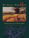 So Shall You Reap (eBook): Farming and Crops in Human Affairs
