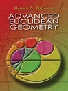 Advanced Euclidean Geometry (eBook)