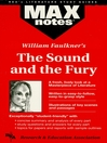 The Sound and the Fury: MAXNotes Literature Guides (eBook)