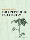 Biophysical Ecology (eBook)