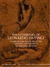 The Notebooks of Leonardo da Vinci (eBook): Volume 1