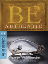 Be Authentic (eBook): Exhibiting Real Faith in the Real World