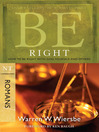 Be Right (eBook): How to Be Right with God, Yourself, and Others