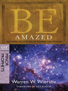 Be Amazed (eBook): Restoring an Attitude of Wonder and Worship