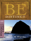Be Distinct (eBook): Standing Firmly Against the World's Tides