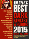 The year's best dark fantasy & horror [electronic book].