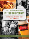 A Culinary History of Pittsburg County (eBook): Little Italy, Choctaw Beer & Lamb Fries
