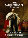 The Georgian Poets, Volume 4 (eBook): 1918-1919