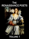 The Renaissance Poets, Volume 1 (MP3)