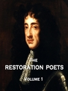 The Restoration Poets, Volume 1 (MP3)
