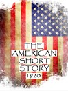 The American Short Story, 1920 (eBook)