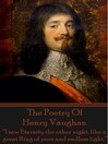 The Poetry of Henry Vaughan (eBook)
