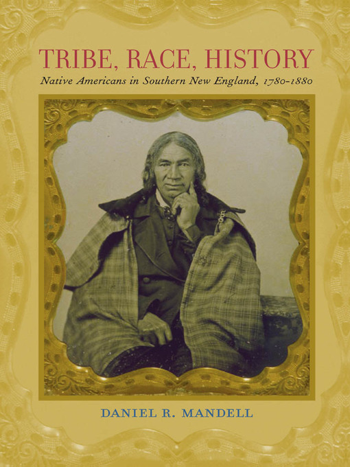 Tribe, Race, History (eBook): Native Americans in Southern New England, 1780–1880