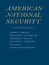 American National Security (eBook)