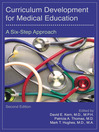 Curriculum Development for Medical Education (eBook): A Six-Step Approach