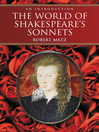 The World of Shakespeare's Sonnets (eBook): An Introduction