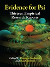 Evidence for Psi (eBook): Thirteen Empirical Research Reports