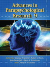 Advances in Parapsychological Research 9 (eBook)