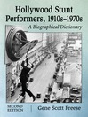 Hollywood Stunt Performers, 1910s-1970s (eBook): A Biographical Dictionary