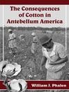 The Consequences of Cotton in Antebellum America (eBook)