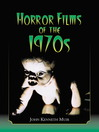 Horror Films of the 1970s (eBook)
