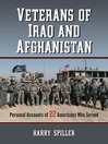 Veterans of Iraq and Afghanistan (eBook): Personal Accounts of 22 Americans Who Served
