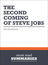 The Second Coming of Steve Jobs - Alan Deutschman (eBook)