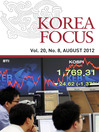 Korea Focus - August 2012 (eBook)