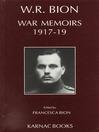 War Memoirs 1917-1919 (eBook)
