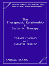 The Therapeutic Relationship in Systemic Therapy (eBook)
