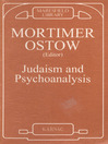 Judaism and Psychoanalysis (eBook)