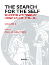 The Search for the Self (eBook): Selected Writings of Heinz Kohut 1978-1981