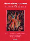 The Emotional Experience of Learning and Teaching (eBook)
