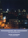 Psychoanalysis and Management (eBook): The Transformation