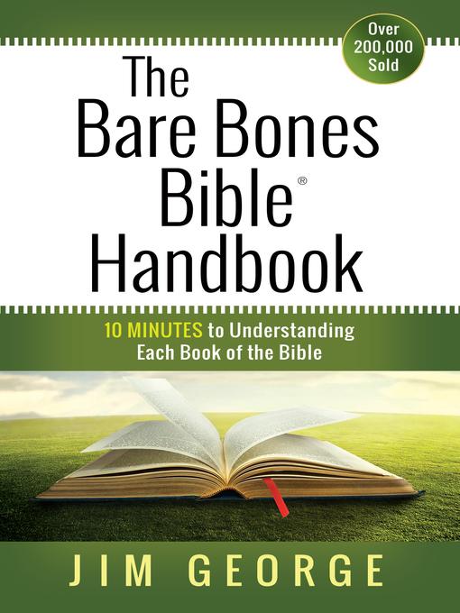 The Bare Bones Bible® Handbook (eBook): 10 Minutes to Understanding Each Book of the Bible