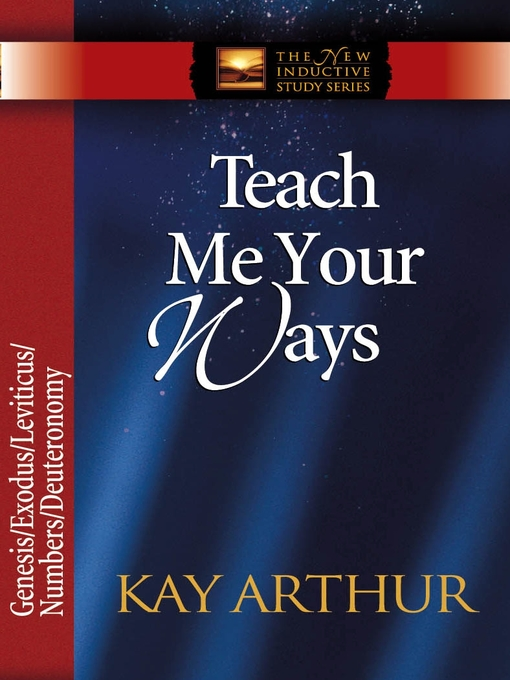 Teach Me Your Ways (eBook): The Pentateuch