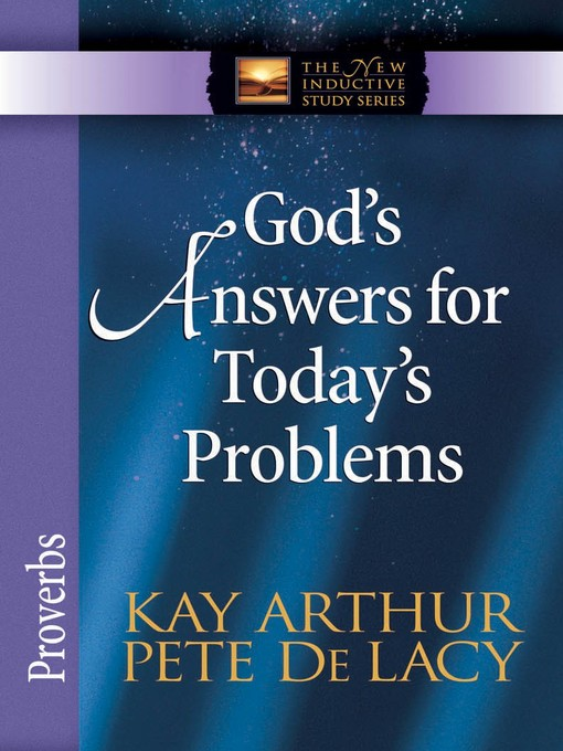 God's Answers for Today's Problems (eBook): Proverbs