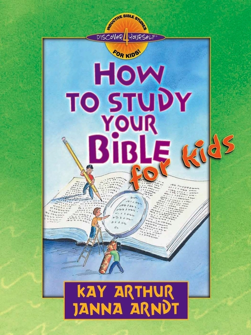How to Study Your Bible for Kids (eBook)